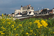Frankrijk, France, 31-8-2013Loire vallei, kasteel, chateau Amboise staat op wereld erfgoedlijst van Unesco. Centres, Indre et Loire, Loire valley, classified in the world heritage by the Unesco, Amboise castle.Foto: Flip Franssen/Hollandse Hoogte