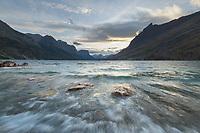 Saint Mary Lake Glacier National Park Montana