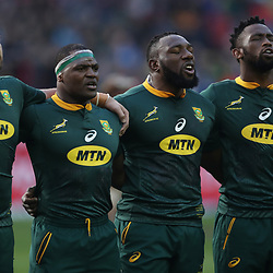 Frans Malherbe - Chiliboy Ralepelle -Tendai Mtawarira and Siya Kolisi (captain) of South Africa during the 2018 Castle Lager Incoming Series 3rd Test match between South Africa and England at Newlands Rugby Stadium,Cape Town,South Africa. 23,06,2018 Photo by (Steve Haag JMP)