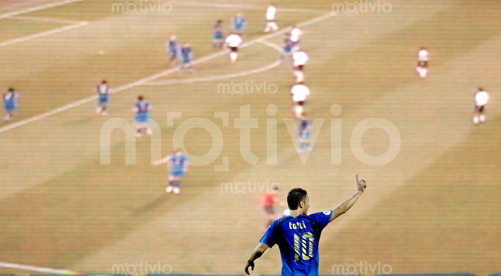 Fussball WM 2006  Gruppenspiel  Vorrunde  USA -Italien Francesco Totti (ITA)