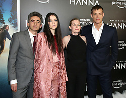 David Farr, Esme Creed-Miles, Mireille Enos & Joel Kinnaman attending the 'Hanna' New York Premiere held at The Whitby Hotel