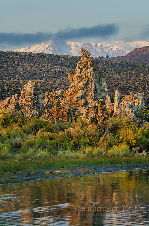 Tufa formations along the South Shore of Mono Lake, Mono County, Eastern Sierra, California