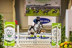 Volckaerts Fleur, BEL, Parmante<br /> Nationaal Indoor Kampioenschap Pony's LRV <br /> Oud Heverlee 2019<br /> © Hippo Foto - Dirk Caremans<br /> 09/03/2019