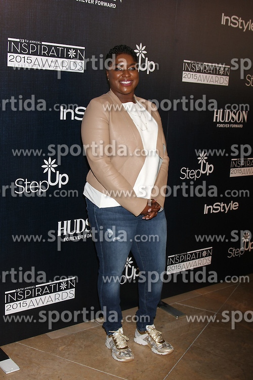 Ester Dean at the Step Up Women's Network 12th Annual Inspiration Awards, Beverly Hilton Hotel, Beverly Hills, CA 06-05-15. EXPA Pictures &copy; 2015, PhotoCredit: EXPA/ Photoshot/ Martin Sloan<br /> <br /> *****ATTENTION - for AUT, SLO, CRO, SRB, BIH, MAZ only*****