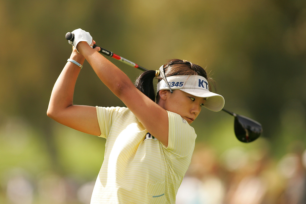 Mi-Hyun Kim..2005 Kraft-Nabisco Championship.Third Round.Mission Hills CC.Rancho Mirage, CA.Saturday March 26 2005..photograph by Darren Carroll. 03-2-05