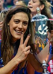 18-05-2019 GER: CEV CL Super Finals Igor Gorgonzola Novara - Imoco Volley Conegliano, Berlin<br /> Igor Gorgonzola Novara take women's title! Novara win 3-1 / Stefana Veljkovic #17 of Igor Gorgonzola Novara