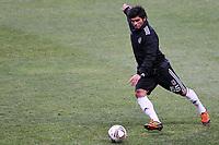 20120213: BRAGA, PORTUGAL - Tanju Kayhan at the Besiktas JK training session before UEFA Europe League match against SC Braga.<br /> PHOTO: CITYFILES