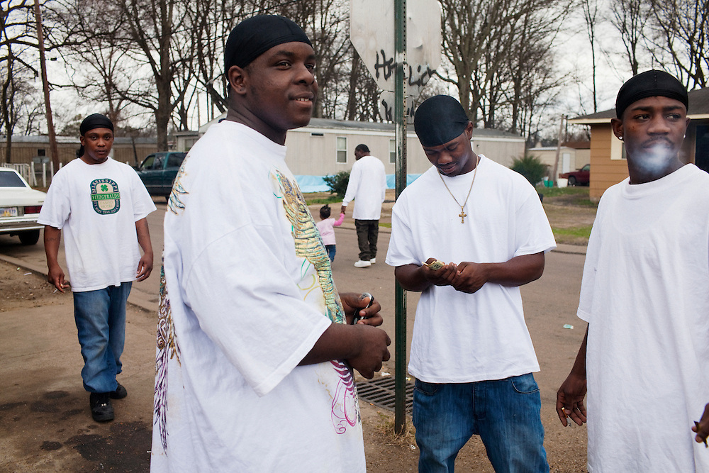 in the Baptist Town neighborhood of Greenwood, Mississippi on Feb. 18, 2011.