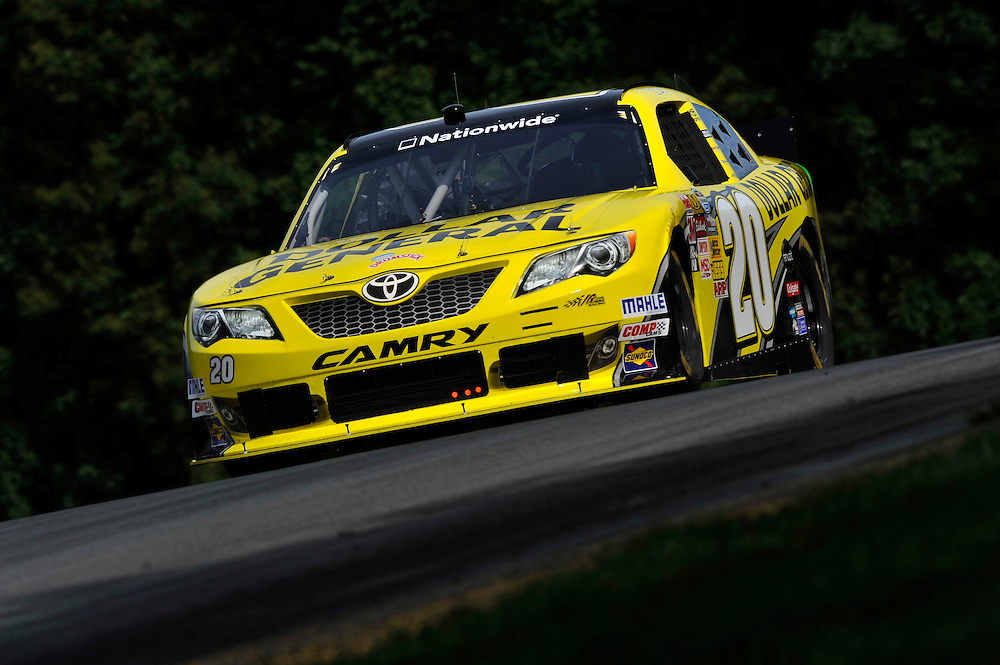 15-17 August, 2013, Lexington, Ohio USA<br /> Brian Vickers, Dollar General Toyota Camry<br /> &copy;2013, Scott R LePage