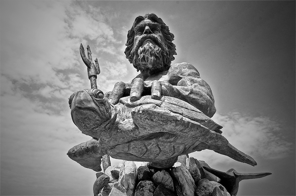 The King Neptune statue in Virginia Beach
