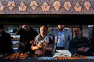 Grilling on the streets of Diyarbakir, Southeastern Turkey.