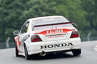 #3 James Dodd - Honda Accord during HSCC Super Touring Car Championship qualifying at Oulton Park, Little Budworth, Cheshire, United Kingdom. June 07 2014. World Copyright Peter Taylor/PSP. Copy of publication required for printed pictures.  Every used picture is fee-liable. http://archive.petertaylor-photographic.co.uk