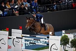 EPAILLARD Julien (FRA), Quatrin de la Roque LM<br /> Paris - FEI World Cup Finals 2018<br /> Grand Prix / Grosser Preis<br /> www.sportfotos-lafrentz.de/Stefan Lafrentz<br /> 15. April 2018