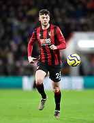 Jack Simpson (25) of AFC Bournemouth during the Premier League match between Bournemouth and Liverpool at the Vitality Stadium, Bournemouth, England on 7 December 2019.
