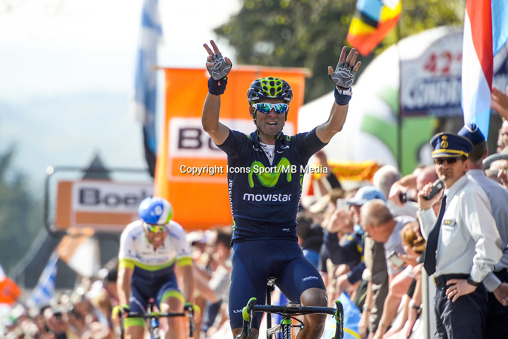 Valverde Alejandro - Movistar - 22.04.2015 - La Fleche Wallonne<br />