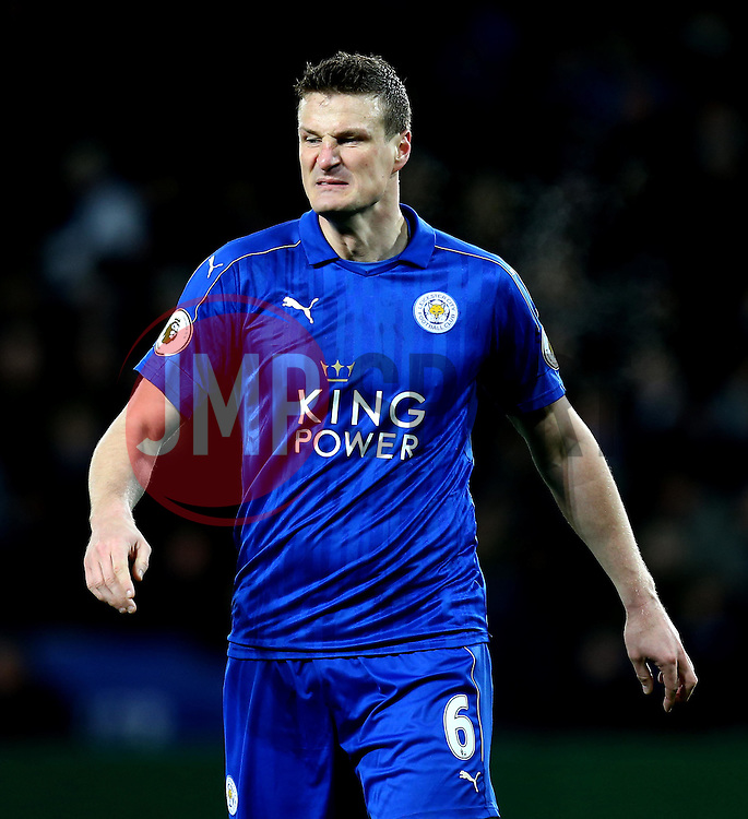 Robert Huth of Leicester City - Mandatory by-line: Robbie Stephenson/JMP - 27/02/2017 - FOOTBALL - King Power Stadium - Leicester, England - Leicester City v Liverpool - Premier League