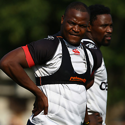 Chiliboy Ralepelle during The Cell C Sharks training session at Growthpoint Kings Park in Durban, South Africa. 11th July 2017(Photo by Steve Haag)<br /> <br /> images for social media must have consent from Steve Haag