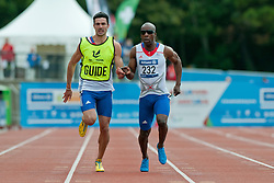 MAKUNDA Guathier Tresor, Guide SIMOUNET Gauthier, 2014 IPC European Athletics Championships, Swansea, Wales, United Kingdom