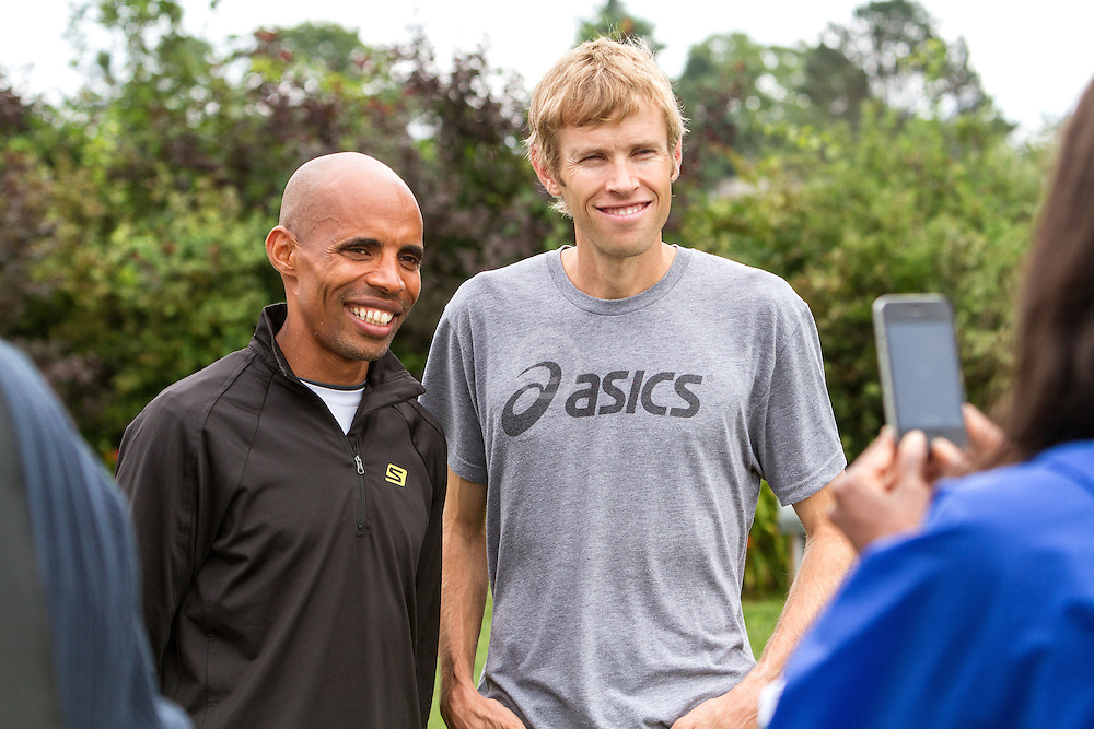 Beach to Beacon 10K, Ryan Hall and Meb Keflezghi