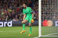 can - 19.04.2017 - Barcellona - Champions League Quarti di Finale  -  Barcellona-Juventus nella  foto: Gianluigi Buffon