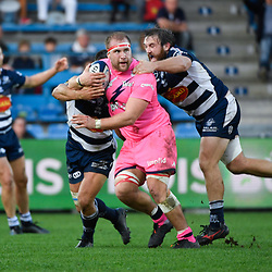 Loic GODENER during the Top 14 match between Agen and Stade Francais on October 19, 2019 in Agen, France. (Photo by Julien Crosnier/Icon Sport) - Loic GODENER - Stade Armandie - Agen (France)