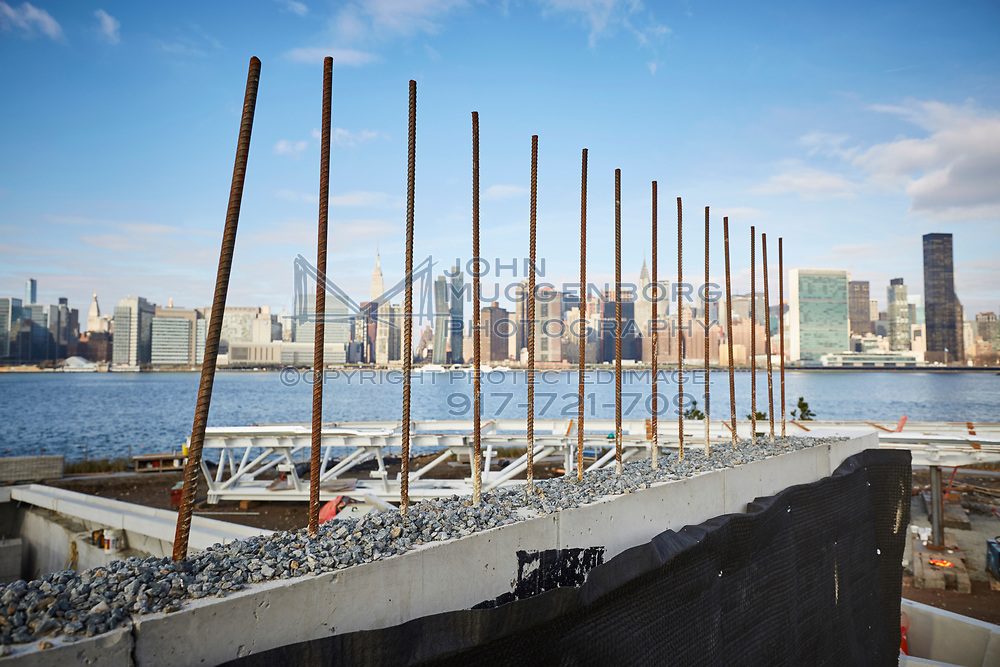 Hunter's Point development in Long Island City. Photographed by John Muggenborg for the NYCEDC.