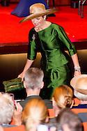 18-6-2016 AMSTERDAM - Queen Maxima opens Saturday June 18 at VU University Medical Centre in Amsterdam, an international conference on transgender health care. At the conference gather more than 800 professionals from the international medical community to share knowledge and experience in the field of gender dysphoria. With gender dysphoria are discontent with regard to the sex in which one was born and raised. In the Netherlands, about 1,000 people in 2015 were referred to the three gender centers (Amsterdam, Groningen and Leiden). The theme of the congress is 'Growing: Empowerment, Expertise, Evidence'. Queen Máxima opens the conference and attend the lecture 'Transgender Holland, sixty years of culture and care' on. organization is owned by Trans Vision Care and the VU University Medical Knowledge and Care Centre for Gender dysphoria. The conference is under the auspices of the WPATH, the World Professional Association for Transgender Health, an international association of professionals gender care. COPYRIGHT ROBIN UTRECHT 18-6-2016 AMSTERDAM - Koningin Maxima opent zaterdagochtend 18 juni in VUmc te Amsterdam een internationaal congres over transgenderzorg. Bij het congres komen ruim 800 professionals uit de internationale medische wereld bijeen om kennis en ervaring op het gebied van genderdysforie te delen. Bij genderdysforie geldt een onbehagen ten aanzien van het geslacht waarin men geboren en opgegroeid is. In Nederland werden in 2015 zo'n 1.000 mensen verwezen naar de drie gendercentra (Amsterdam, Groningen en Leiden). Het thema van het congres is 'Growing: Empowerment, Expertise, Evidence'. Koningin Máxima opent het congres en woont de lezing 'Transgender Holland, sixty years of culture and care' bij. organisatie is in handen van Transvisie Zorg en het VUmc Kennis- en Zorgcentrum voor Genderdysforie. Het congres staat onder auspiciën van de WPATH, de World Professional Association for Transgender Health, een internationale vereniging van be