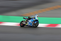 May 22, 2018 - Barcelona, Catalonia, Spain - Alex Rins (Suzuki) during the Moto GP test in the Barcelona Catalunya Circuit, on 22th May 2018 in Barcelona, Spain. (Credit Image: © Joan Valls/NurPhoto via ZUMA Press)