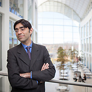Moeed Yusuf, associate Vice President of Asia center at the United States Institute of Peace, on Monday, November 21, 2016. For the Pardee School of Global Studies at Boston University.
