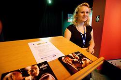 na okrogli mizi o izzivih slovenske kosarke na podrocju dela z mladimi, ki bodo v nekaj letih zastopali tudi barve slovenske vrhunske kosarke  v organizaciji drustva SportForum Slovenija, 4.  oktober 2010, Dvorana Mercurius, BTC, Ljubljana, Slovenija. (Photo by Vid Ponikvar / Sportida)