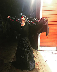 """Lady Gaga releases a photo on Instagram with the following caption: """"What\u2019s fashionable gal to do when it rains? Wear a raincoat gown by @bjornborg \u2614\ufe0f"""". Photo Credit: Instagram *** No USA Distribution *** For Editorial Use Only *** Not to be Published in Books or Photo Books ***  Please note: Fees charged by the agency are for the agency's services only, and do not, nor are they intended to, convey to the user any ownership of Copyright or License in the material. The agency does not claim any ownership including but not limited to Copyright or License in the attached material. By publishing this material you expressly agree to indemnify and to hold the agency and its directors, shareholders and employees harmless from any loss, claims, damages, demands, expenses (including legal fees), or any causes of action or allegation against the agency arising out of or connected in any way with publication of the material."""