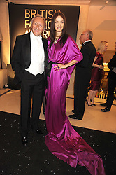ROKSANDA ILINCIC and HAROLD TILLMAN at the 2008 British Fashion Awards held at the Lawrence Hall, Westminster, London on 25th November 2008.