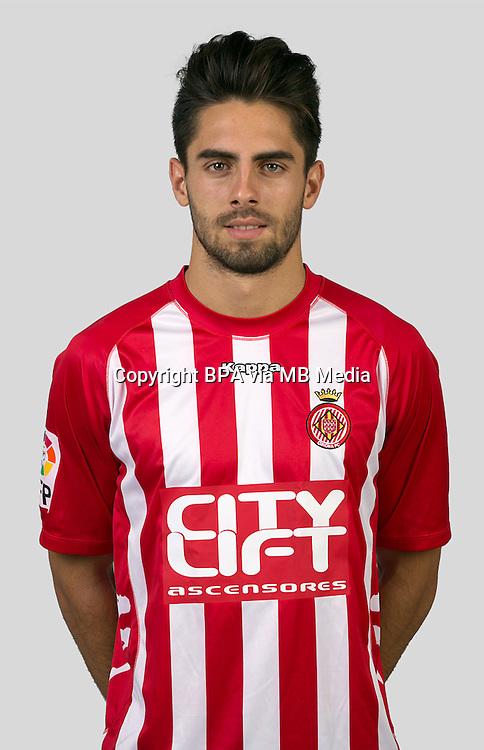 Spain - La Liga Adelante 2015-2016 / <br /> ( Girona F.C. ) - <br /> Ruben Sobrino Pozuelo