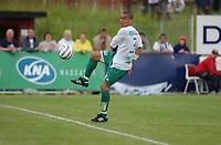 Fotball, Eliteserie, 25 juli 2004, Alfheim Stadion i Tromsø, TROMSØ IL - HAM KAM 0-3, HAM KAMs Axel Smeets<br /> FOTO: KAJA BAARDSEN/DIGITALSPORT