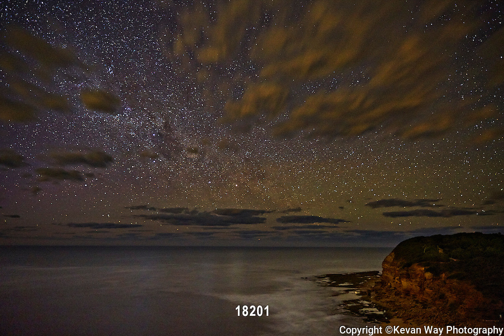 The Milky Way over Bells Beach