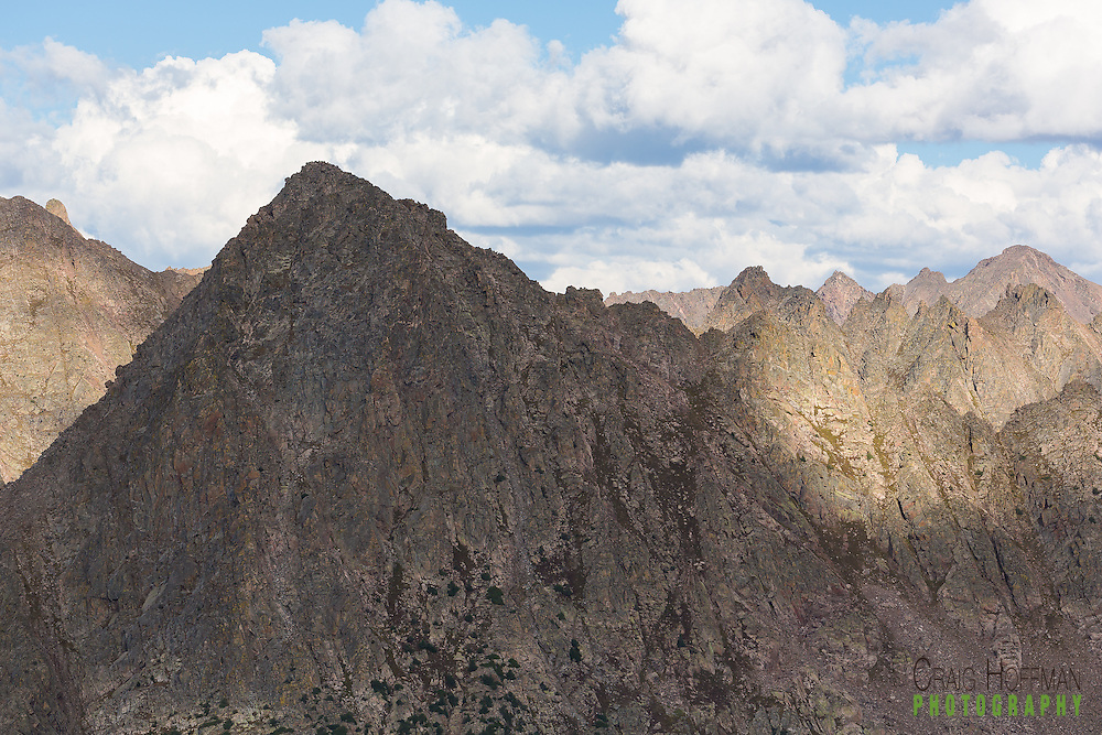 10th Mountain Hut Division - Ben Eiseman Hut The rugged peaks of Colorado's Gore Range backdrop the Eiseman Hut, 10th Mountain's most alpine hostel.