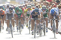 SYKKEL - TOUR DE FRANCE 2003 - STEP2 - LA FERTE-SOUS-JOUARRE > SEDAN -  07072003 - PHOTO: CROSNIER MILLEREAU / DIGITALSPORT<br />