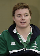 Brian O'Driscoll at the 2006, RBS Six Nations, Rugby Press Conference, Hurlingham Club, Fulham. London ENGLAND, 25.01.2006    © Peter Spurrier/Intersport Images - email images@intersport-images.   [Mandatory Credit, Peter Spurier/ Intersport Images].
