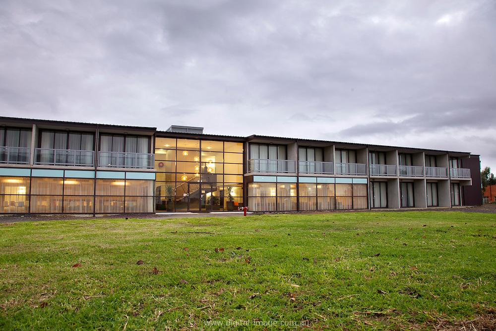 User Accomodation at the Australian Synchrotron, exterior view