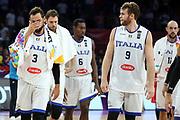 Marco Belinelli, Nicolo Melli<br /> Nazionale Italiana Maschile Senior<br /> Eurobasket 2017 - Final Phase - 1/4 Finals<br /> Italia Serbia Italy Serbia<br /> FIP 2017<br /> Istanbul, 13/09/2017<br /> Foto M.Ceretti / Ciamillo - Castoria