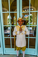 Doorman, Raffles Hotel Le Royal, Phnom Penh, Cambodia.