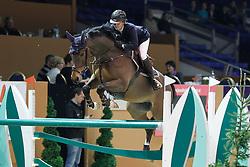 Offel Katharina (UKR) - Woody<br /> Jumping Indoor Zuidlaren 2010<br /> © Hippo Foto - Leanjo de Koster