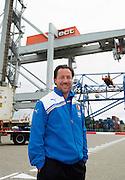 ROTTERDAM-26 september 2011-Feyenoord meets the Port. Assistent Trainer Jean-Paul van Gastel. Photo: Gerrit de Heus