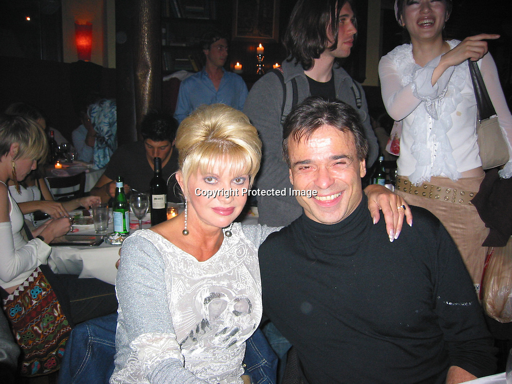 Ivana Trump &amp; new boyfriend Cristian Curotto<br />