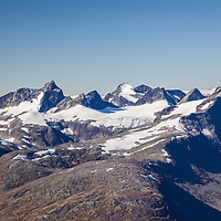 Western parts of Hurrungane