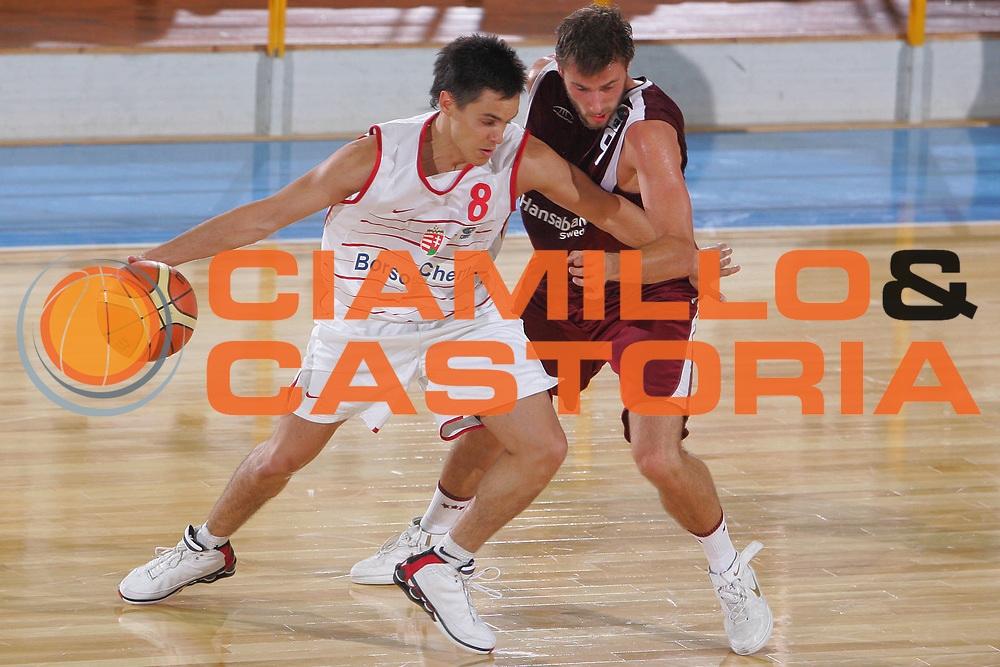 DESCRIZIONE : Gorizia U20 European Championship Men Classification Round Hungary Latvia <br /> GIOCATORE : Kiss <br /> SQUADRA : Hungary <br /> EVENTO : Gorizia U20 European Championship Men Classification Round Hungary Latvia Campionato Europeo Maschile Under 20 Classificazioni Ungheria Lettonia <br /> GARA : Hungary Latvia <br /> DATA : 10/07/2007 <br /> CATEGORIA : Palleggio <br /> SPORT : Pallacanestro <br /> AUTORE : Agenzia Ciamillo-Castoria/S.Silvestri <br /> Galleria : Europeo Under 20 <br /> Fotonotizia : Nova Gorica U20 European Championship Men Classification Round Hungary Latvia <br /> Predefinita :