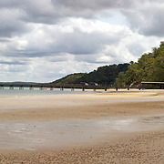 Landscape of Kingfisher Bay, Fraser Island, Queensland, Australia