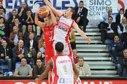 DESCRIZIONE : Pesaro Lega A 2009-10 Scavolini Spar Pesaro Armani Jeans Milano<br /> GIOCATORE : Sani Becirovic<br /> SQUADRA : Armani Jeans Milano<br /> EVENTO : Campionato Lega A 2009-2010<br /> GARA : Scavolini Spar Pesaro Armani Jeans Milano<br /> DATA : 29/03/2010<br /> CATEGORIA : rimbalzo<br /> SPORT : Pallacanestro<br /> AUTORE : Agenzia Ciamillo-Castoria/M.Marchi<br /> Galleria : Lega Basket A 2009-2010 <br /> Fotonotizia : Pesaro Campionato Italiano Lega A 2009-2010 Scavolini Spar Pesaro Armani Jeans Milano<br /> Predefinita :