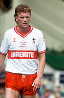 Fotball<br /> Foto: Colorsport/Digitalsport<br /> NORWAY ONLY<br /> <br /> David Moyes (Bristol City) Freight Rover Final @ Wembley. 1987. Bristol City v Mansfield Town.