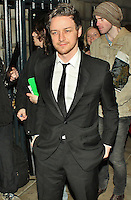 LONDON - November 10: James McAvoy at the Peace Earth Foundation Fundraising Gala (Photo by Brett D. Cove)